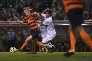 In all but one game this season, No. 7 Syracuse has tied or won by a goal. Tuesday night at SU Soccer Stadium was no different.