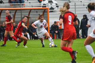 In her first career start, Donovan put the Orange on the board two minutes in, drilling the ball into the top far corner of the goal.